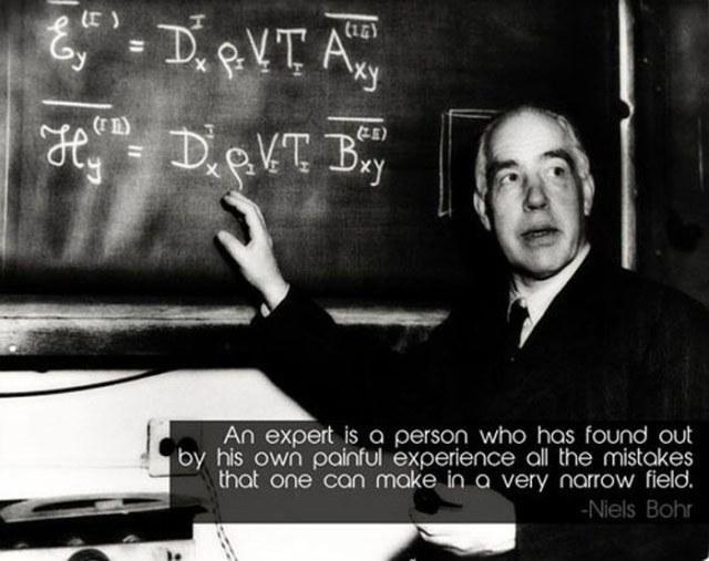 Niels Bohr expert