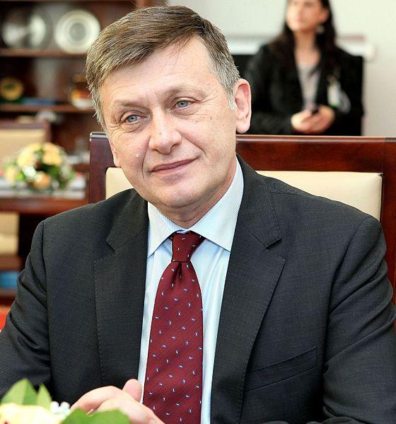 Crin Antonescu, foto de Michał Józefaciuk