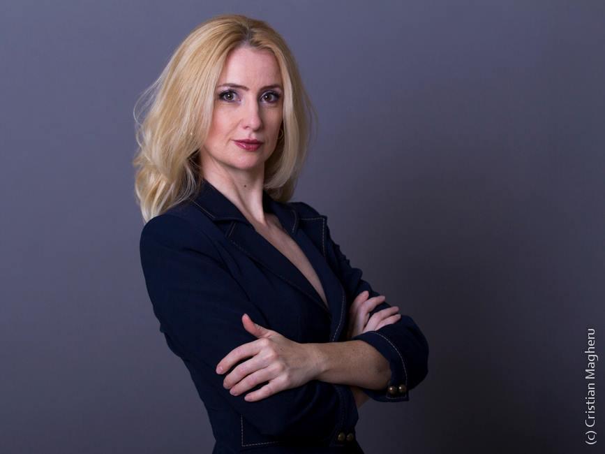 Amalia Săvinescu, un model profesional. Fotografie de Cristian Magheru. Copyright (C) Cristian Magheru