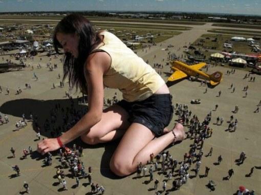 giant girl