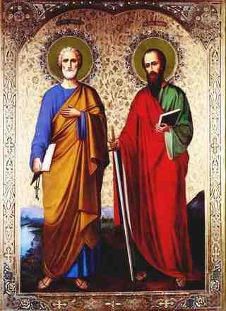 Puterea Credintei: Sfintii Apostoli Petru si Pavel  |Sf. Petru Si Pavel