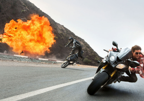 Mission Impossible Rogue Nation chase