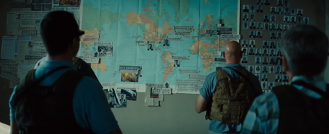 Mission Impossible Rogue Nation wall
