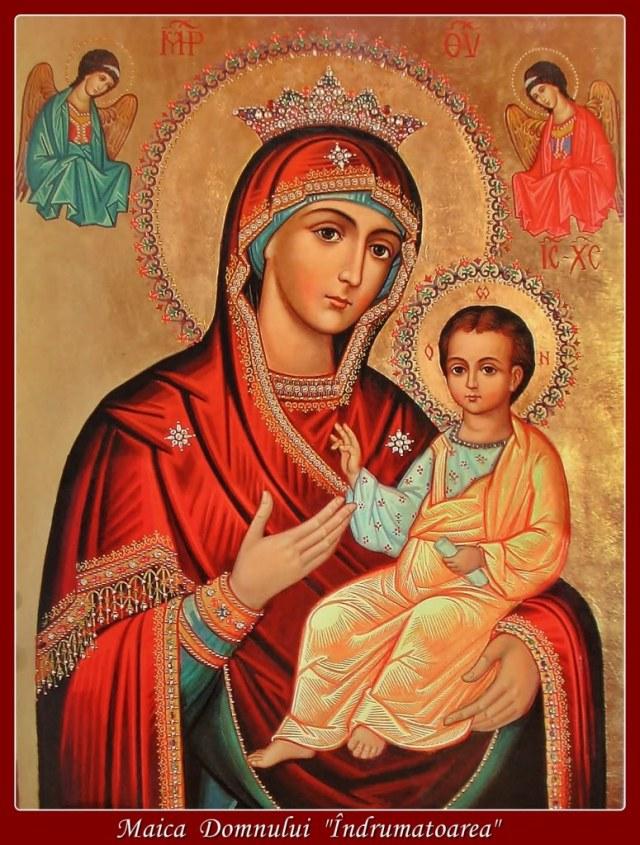 Icoana Maicii Domnului cu Pruncul Iisus Hristos